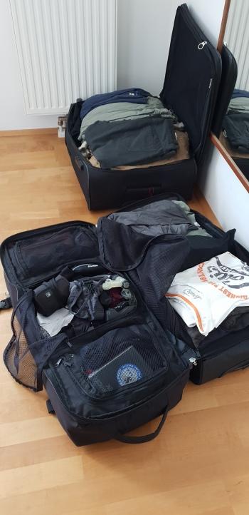 Mein Fidschi-Gepäck
